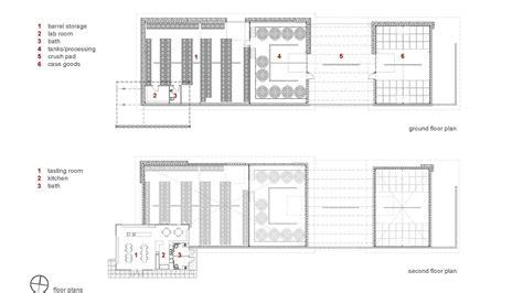 winery floor plans gallery of kukkula winery studio b architects 21