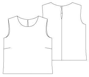 Blind Hem Free Pdf Sewing Patterns The Pinafore Dress Pattern The