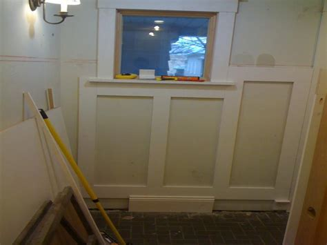 Diy Wainscoting Kit Walls Laying The Pattern Of Diy Wainscoting Diy