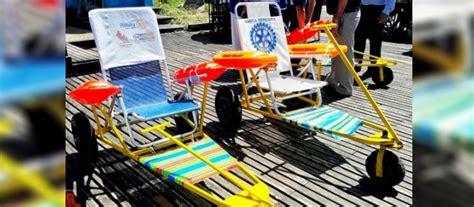 silla de ruedas anfibia presos fabricaron sillas de ruedas anfibias para