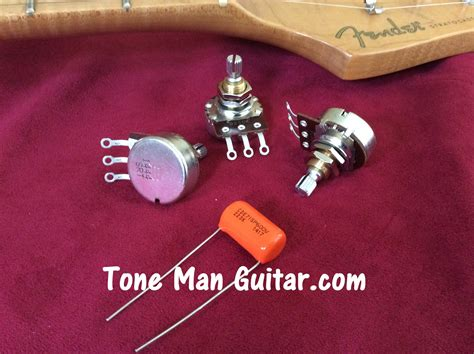 capacitor guitar wiring stratocaster upgrade wiring kit bourns 250k pots