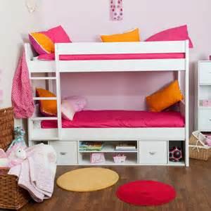Stompa Uno Bunk Bed Buy Stompa Children S Range Bedroom Furniture Bedstar