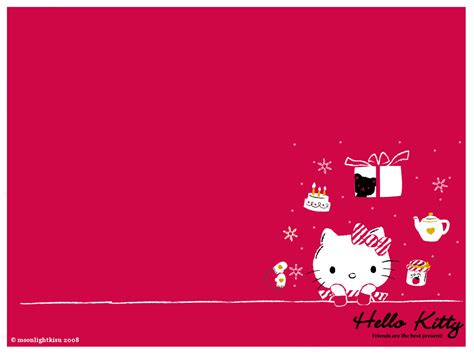 wallpaper bergerak happy birthday backgrounds hello kitty wallpaper cave