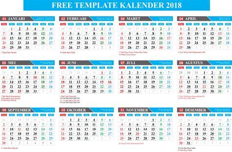 Kalender 2018 Beserta Kalender Jawa Gratis Free Template Kalender 2018 Lengkap