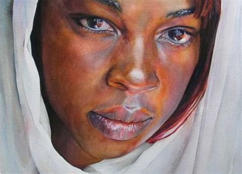 black woman paintings portraits artist ann balch a r t pinterest