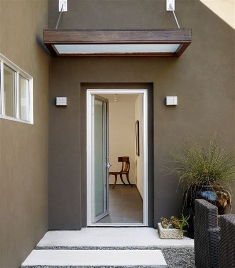 Glass Awning Design by How To Choose The Glass Canopy For Your Front Door Glassonweb