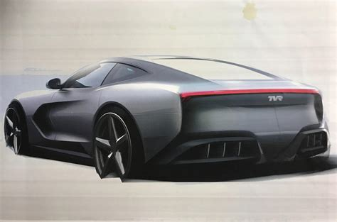 tvr coupe new tvr v8 sports car to use manual gearbox autocar