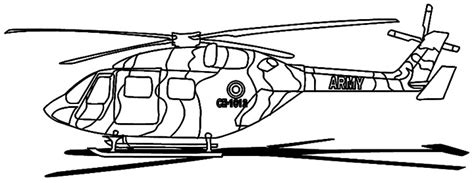 army helocopter free coloring pages