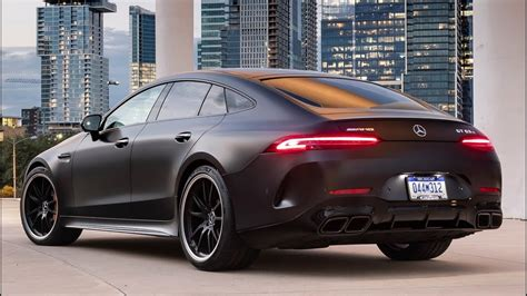 Mercedes 2019 Sports Car by 2019 Mercedes Amg Gt 63 S 4matic 4 Door Sports Car With