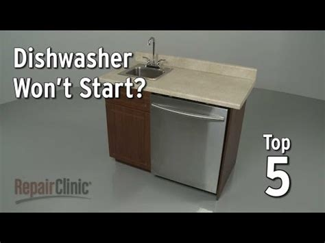 My Dishwasher Will Not Turn On Whirlpool Kenmore Maytag Amana Dryer Won T Start Easy