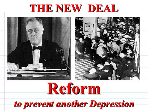 The New - the new deal