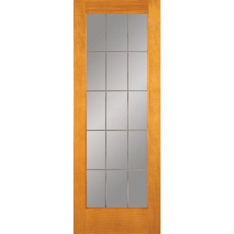 Home Depot Doors Interior Feather River Doors 30 In X 80 In 15 Lite Illusions