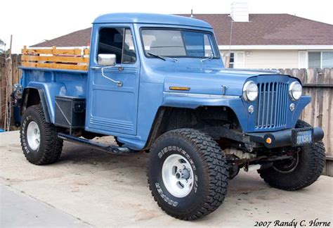 53 Willys Jeep Jeep Em Up Truck Noisy Hub Club