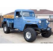 Modified 1953 Willys Pickup Front