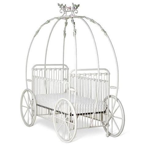 Corsican Iron Cribs 43006 Statonary Pumpkin Canopy Crib Baby Carriage Crib