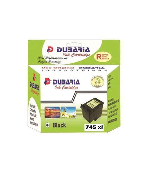 Canon Pg745s Black Ink dubaria 745 xl black ink cartridge compatible for canon pg 745 xl black buy dubaria 745 xl