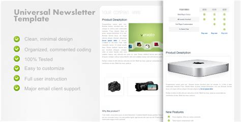 Scriptmafia Org Gt Themeforest Universalnewsletter Clean Email Template Rip Gt Print Version Themeforest Html Email Template