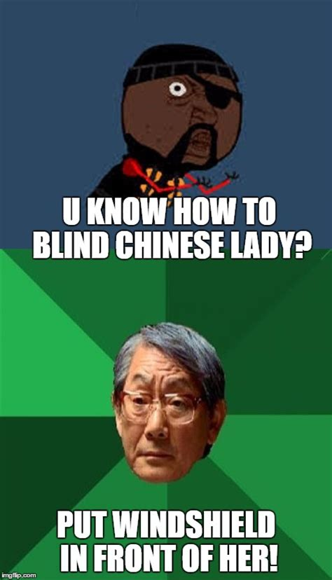 Funny Chinese Meme - y u no guy and asian father driver training imgflip
