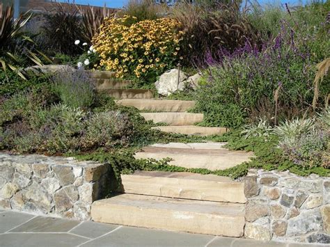 Lowes Backyard Step Garden Landscape Traditional With Side Garden