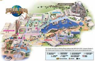 map of universal studios in florida theme park maps theme park investigator