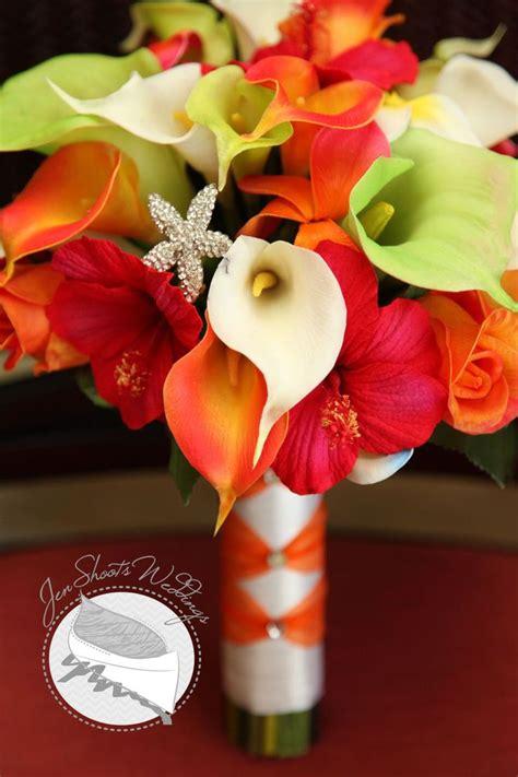 tropical bridal bouquets tropical wedding bouquet for a destination wedding in wedding