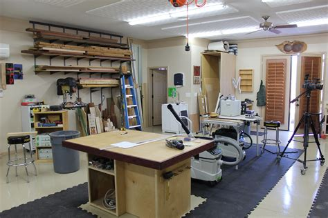 Workshop Layout Tips | 12 shop layout tips the wood whisperer