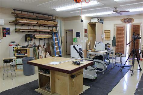 shop layout tips  wood whisperer