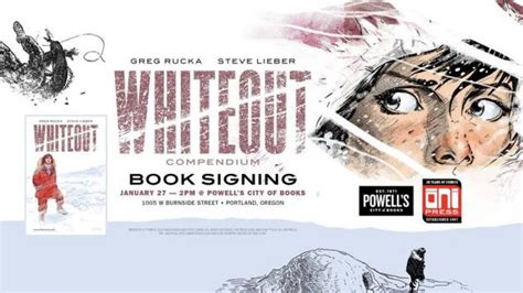whiteout compendium books or whiteout compendium signing convention