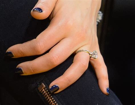 team wedding see mila kunis s beautiful engagement ring