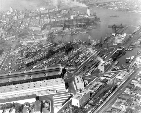 boat salvage yards south dakota file new york navy yard aerial photo 1 in april 1945 jpg