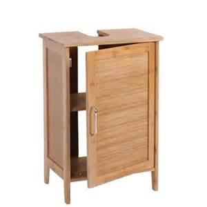 meuble pour salle de bain avec 233 tag 232 re en bambou