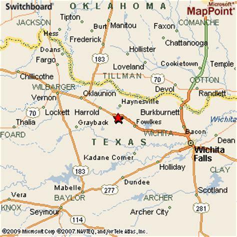 electra texas map electra texas