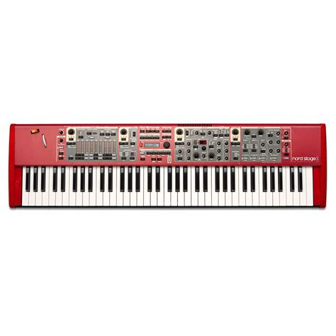 Keyboard Nord Stage 2 Clavia Nord Stage 2 Compact 171 Stage Piano