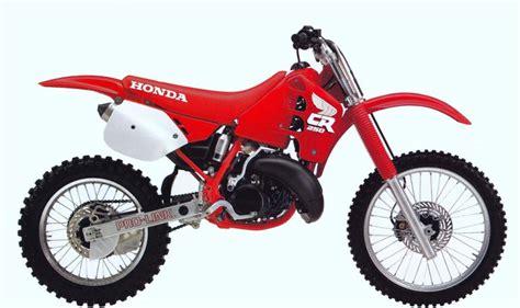 1988 honda cr250r 6 dirt bikes that changed the sport rideapart