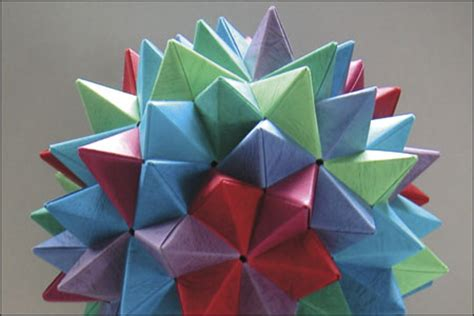 Mathematics Of Paper Folding - artists folding paper japanese american national museum