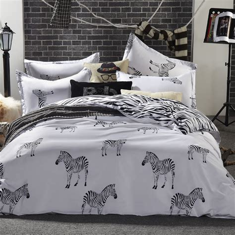 zebra comforter set full online buy wholesale zebra comforter full from china zebra