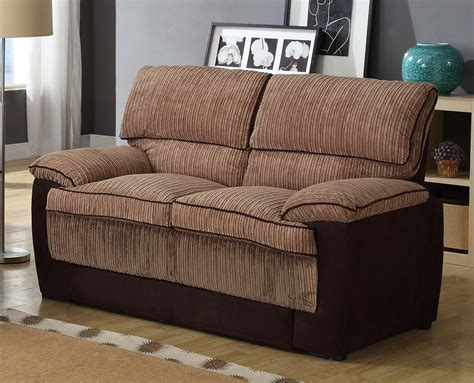 brown corduroy sofa homelegance mccollum sofa set brown corduroy and