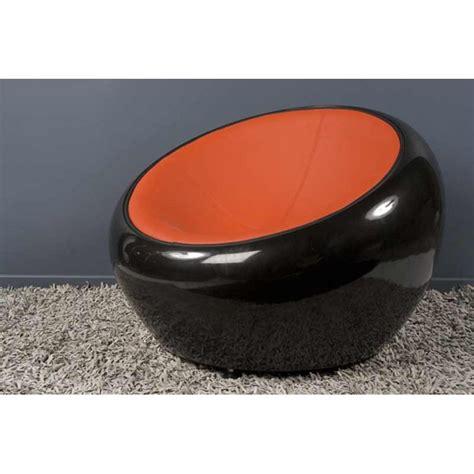 fauteuil 70 cm fauteuil design quot bubble quot 70cm noir rouge
