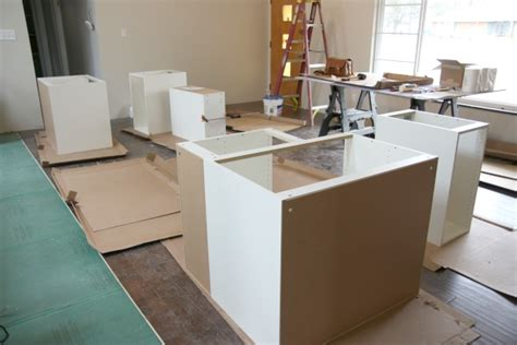 installing kitchen base cabinets house tweaking