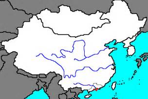Great Wall Of China Map Outline by China Map Quiz