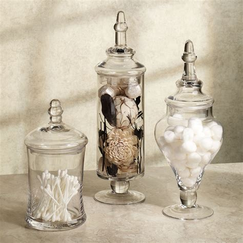 bathroom glass jars glass jars bathroom bathroom