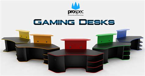 Gaming Desk Plans Gaming Desks E Shop Prospec Designs