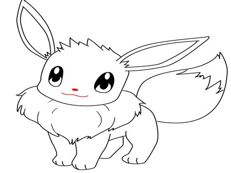 eevee coloring pages eevee free coloring pages