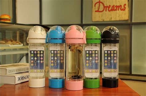 Q4 2 In 1 Storage Box Multi Fungsitempat Pe Kode E2956 2 multi function sports bottle telephone storage water