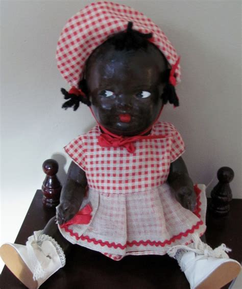 vintage composition doll value vintage 10 quot black composition topsy doll 187 yesterday s dolls