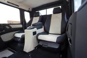 Mercedes 6x6 Interior 2014 Mercedes G63 Amg 6x6 Interior Rear Seats Photo 10