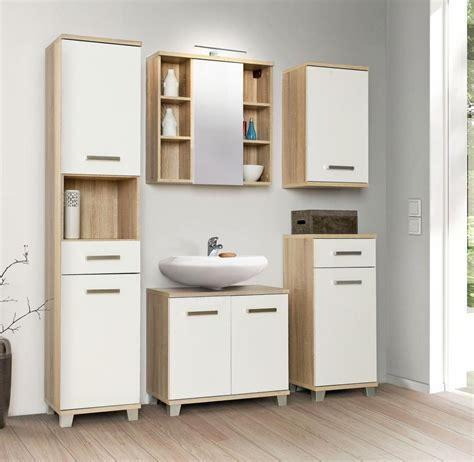 badezimmer komplett set veris 5 tlg badm 246 bel front wei 223 - Badezimmer Komplett