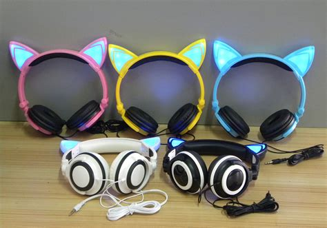 Unik Anti Embun Fog Drying Insert Waterproof Xiaoyi Xiaomi Yi Gopro cat ear headphone lucu dengan led black jakartanotebook