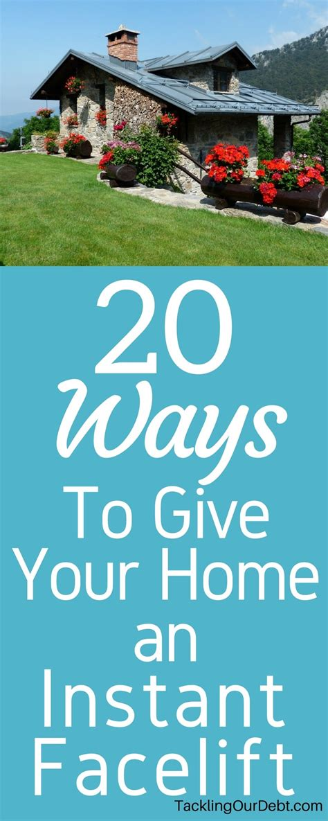 5 Ways To Give Your Home A Facelift by 20 Ways To Give Your Home An Instant Facelift Tackling