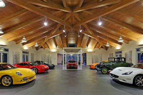how big is a 3 car garage 163 4 million house with 16 car garage big motoring world